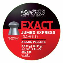 JSB EXACT JUMBO 5.52mm / 500, EXPRESS (14,4 grains)