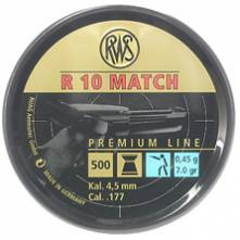 RWS R-10 MATCH PISTOL 4,50/500 (7 grains)