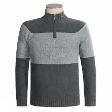 COLUMBIA NATSOX RUN SWEATER - ZIP NECK