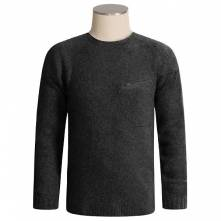 COLUMBIA  FEDERAL FLATS SWEATER - TITANIUM COLLECTION, WOOL (ΜΟΛΥΒΙ)