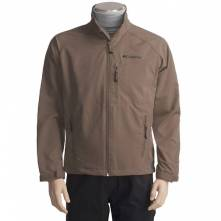 COLUMBIA JETSTREAM JACKET - SOFT SHELL (ΑΝΟΙΧΤΟ ΚΑΦΕ)