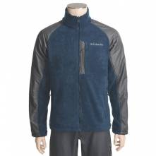 COLUMBIA TEN TRAIL III JACKET - FLEECE (ΜΠΛΕ ΜΕ ΓΚΡΙ)