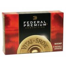 "FEDERAL VITAL-SHOK COOPERPLATED 00 BUCK 12/89 ( 18-ΒΟΛΑ ΕΠΙΧΑΛΚΩΜΕΝΑ 3,5"")(P13500)"
