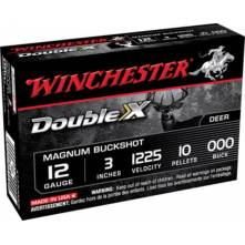 """WINCHESTER DOUBLE-X 3"""" MAGNUM 10-ΒΟΛΑ COOPERPLATED 12/76 (X123C000B) 000 BUCK"""