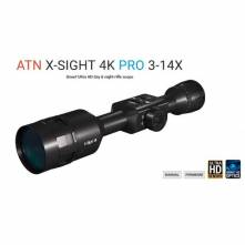 ATN X-SIGHT 4K PRO 3-14x DAY/NIGHT