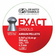 JSB EXACT 4.50 mm / 500 (8,4 grains)