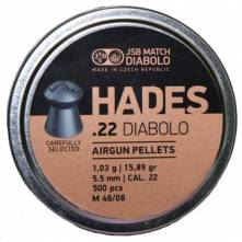 JSB HADES .22/500 (15.89 grain)