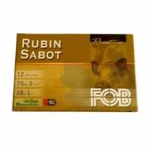 FOB RUBIN SABOT CAL12/70 ΜΟΝΟΒΟΛΟ (5 τεμ.)