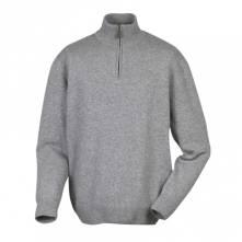 LE CHAMEAU GRANDVILLE πουλόβερ με φερμουάρ (γκρι)
