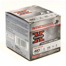 """WINCHESTER SUPER-X  3"""" MAGNUM 20gr. Game & Field Loads C36 (410 ga.)"""