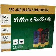 SELLIER BELLOT RED AND BLACK STREUKREUZ ( ΔΙΑΣΠΟΡΑΣ )