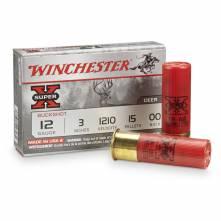 WINCHESTER SUPER-X 00 BUCK MAGNUM 12/76 (15ΒΟΛΟ) (XB12300)