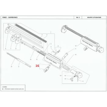 BENELLI BOLT HANDLE VINCI /SUPERVINCI