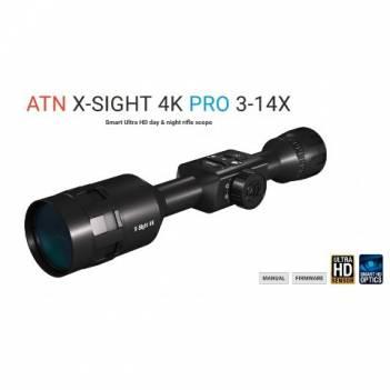 ATN X-SIGHT 4K PRO 3-14x DAY/NIGHT