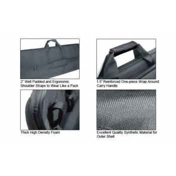 """UTG 34""""/86 cm MC Homeland Security Covert Gun Case, Black"""